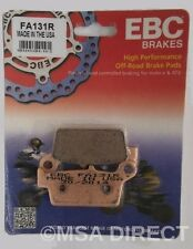 "Kawasaki KLX400 (2003 to 2004) EBC ""R"" Sintered REAR Brake Pads (FA131R) 1 Set"