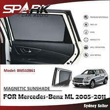 CT MAGNETIC CAR WINDOW SUN SHADE BLIND MESH REAR DOOR FOR Mercedes Benz ML 05-11