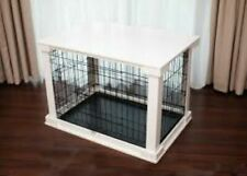 Zoovilla Small Cage with White Wood Crate Cover New in Box VERY NICE