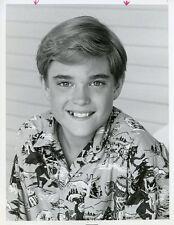 CHAD ALLEN SMILING PORTRAIT OUR HOUSE ORIGINAL 1986 NBC TV PHOTO