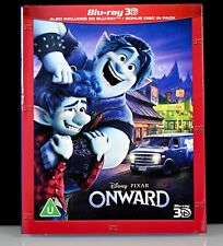 Onward - Blu-Ray 3D + 2D + Bonus - 3 Disc Ed w/ Slip Cover Walt Disney - Sealed