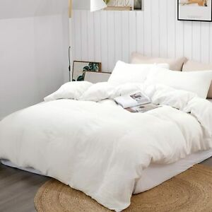 1000 TC 100%Egyptian Cotton Fitted/Flat/Sheet/Duvet in All UK Sizes White Solid