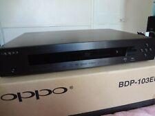Oppo Digital BDP-103EU 3D Blu-Ray DVD BLACK