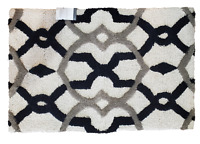 "Target Threshold Accent Rug Blue & Grey Lattice Rug 24"" x 36"" **NEW with TAGS**"
