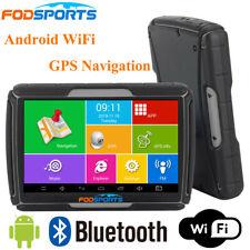 "4.3"" Car Motorcycle GPS SAT NAV Bluetooth Android WiFi Navigation Waterproof 8GB"