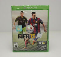 FIFA 15 Microsoft Xbox One 2014 Legends Factory Sealed! SHIPS FAST! SEE VIDEOS!!