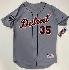 JUSTIN VERLANDER 2011 DETROIT TIGERS AUTHENTIC ROAD JERSEY SIZE 48 SPARKY PATCH
