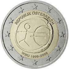 Austria / Österreich - 2 Euro 10th anniversary of Economic and Monetary Union