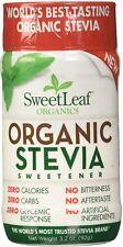 Organic Stevia Sweetener, SweetLeaf, 3.2 oz