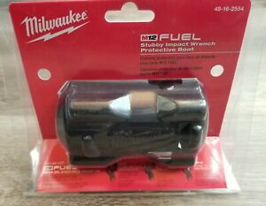 Milwaukee M12 Stubby Impact Wrench Boot/Cover for 2554-20 or 2555-20 #49-16-2554