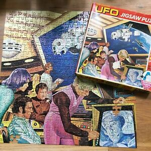 Rare Vintage Gerry Anderson's UFO 320 Piece Jigsaw by Arrow 1970~Boxed