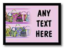 Handbags Personalised Dinner Table Placemat