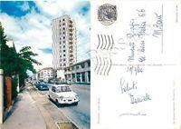 Cartolina di Pordenone, viale Dante Alighieri - 1964