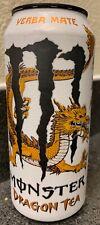 NEW MONSTER DRAGON TEA YERBA MATE ENERGY DRINK 15.5 FL OZ FULL CAN UNLEASHDRAGON