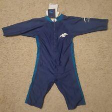 Konfidence Shortty UV Swimsuit Blue Boys 4-5 Years Med SPF 40+ Swim Suit Trunks