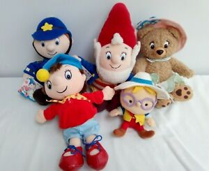 Vintage Blyton's Toyland - Noddy and Friends Soft Toys Bundle
