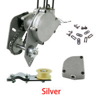 Silver Shifter Kit Jackshaft Kit 415 Chain 66/ 80cc Gas Motorized Bicycle Bike