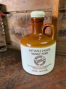 Vintage McWilliam's Tawny Port Special Limited Edition Stoneware Bottle 750ml