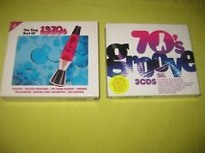The Very Best Of The 1970s & 70's Groove 2 Albums 6 CDs ft Jacksons Shalamar