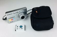 Olympus FE FE-20 8.0MP Digital Camera - Silver With Carrying Case
