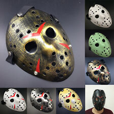 Jason Voorhees Scary Prop Hockey Halloween Cosplay Creepy Friday 13th Cheap