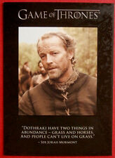 "GAME OF THRONES - SEASON 1 - ""Quotable"" Chase Card #Q3 - SER JORAH MORMONT"