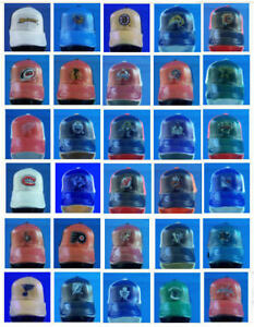 """NHL HOCKEY OFFICIALLY LICENSED 1.5"""" MINITURE TEAM CAP HAT MINI - YOU PICK TEAM"""