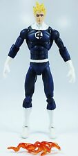 Marvel Universe 2009 HUMAN TORCH (DARK BLUE COSTUME) (SERIES 1 #011) - Loose
