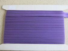 Bias binding Purple Poly Cotton 25mm(1inch) x10m