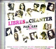 CD PAROLES DE FEMMES 15T ARENA/JENIFER/LEROY/SHYM/SEGARA/SANSON/ANGGUN NEUF SCEL