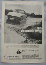 1963 Lotus Original advert