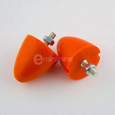 Classic Mini Polyflex Single Bolt Bump Stop Kit Orange PAIR rover austin 1275