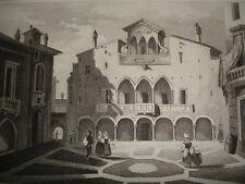 ITALIE PITTORESQUE / LOMBARDIE Place du tribunal à  Milan