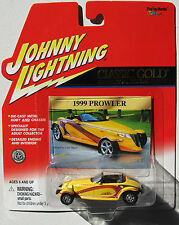 JOHNNY LIGHTNING R9 CLASSIC GOLD 1999 CHRYSLER PROWLER #75