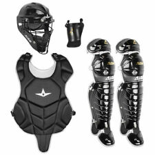 All Star League Series NOCSAE Certified Youth Catcher's Gear Set - Ages 7-9, New