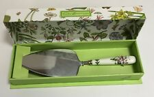 Portmeirion Botanic Garden Cake Slice Server Serving Utensil
