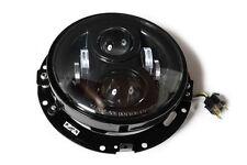 7 Zoll LED Scheinwerfereinsatz Kit mit Halter und Außenring f. H-D Modelle E-gep