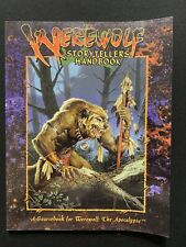Werewolf The Apocalypse Werewolf Storytellers Handbook Unused