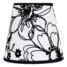 Lampenschirm Landhaus Stoff Textil Shabby Chic E27 Tischlampenschirm 11*18*14cm