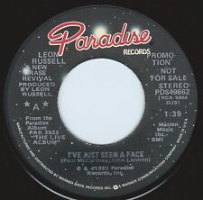 LEON RUSSELL I've Just Seen A Face ((**NEW 45 DJ**)) from 1981
