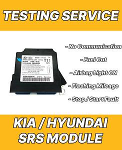 KIA 95910-1Y110 AIRBAG ECU SRS MODULE NO COMMUNICATION REPAIR TESTING SERVICE