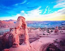 """Beautiful 8""""X10"""" Photo of """"Delicate"""" & """"Landscape"""" In Arches National Park (#61)"""