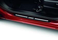 Genuine Toyota Yaris 3 DR 2011-GRAFFI piatti, Alluminio Spazzolato-PZ438-B118A-00
