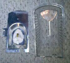 New listing Kenmore Refridge Mod 596.50692 Light Fixture - base, cover D7786603, socket