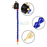 Mist Coolant Lubrication Spray System For 8mm Air Pipe CNC Lathe + 3M Tube