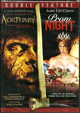 Mortuary/Prom Night. 2 DVD  horror twin pack. New In Shrink. R4!