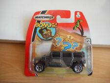 Matchbox Hummer H2 SUV Concept in Grey on Blister