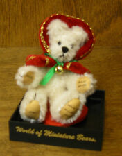 World of Miniature Bears #787 WINTER by Becky Wheeler, NEW from Retail Store