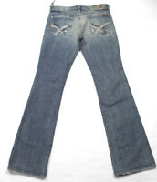 Seven 7 for All Mankind Womens Sz 29 Jeans Bootcut Crystals Rhinestones Distress
