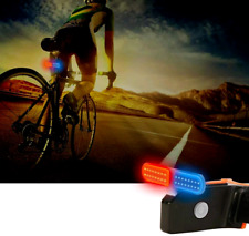 Rear Bike / Tail Lights ~ 5 Modes ~ Red & Blue LEDs ~ USB Rechargeable ~Portable